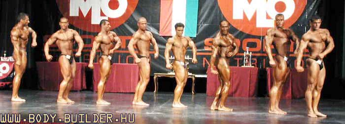 IFBB OB 2001, Mr MLO Olympia, Overall