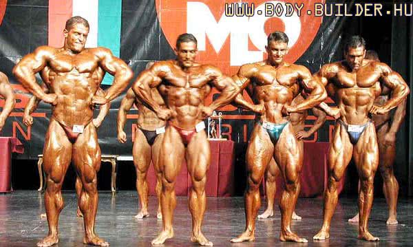 IFBB OB 2001, Overall