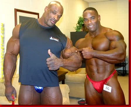 Mr. Olympia 2003, Johnnie O. Jackson, Ronnie Coleman