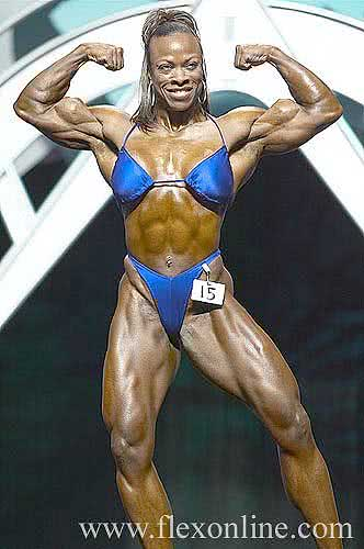 Miss Olympia 2003, Vickie Gates