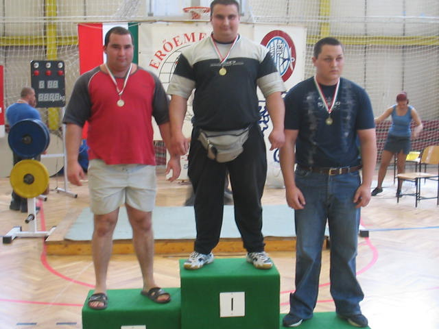 Powerlifting, Junior Fekvenyomó OB 2005