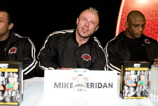Mr. Olympia 2005, Press Conference, Mike Sheridan