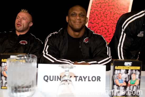Mr. Olympia 2005, Press Conference, Quincy Taylor