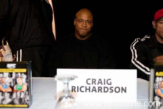 Mr. Olympia 2005, Press Conference, Craig Richardson