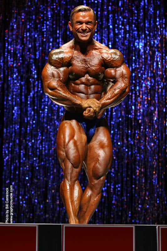 Ironman 2006, Lee Priest