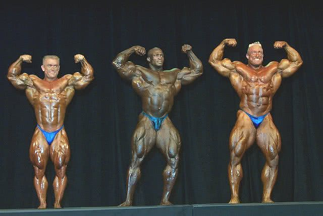 Mr. Olympia 2000, Callouts