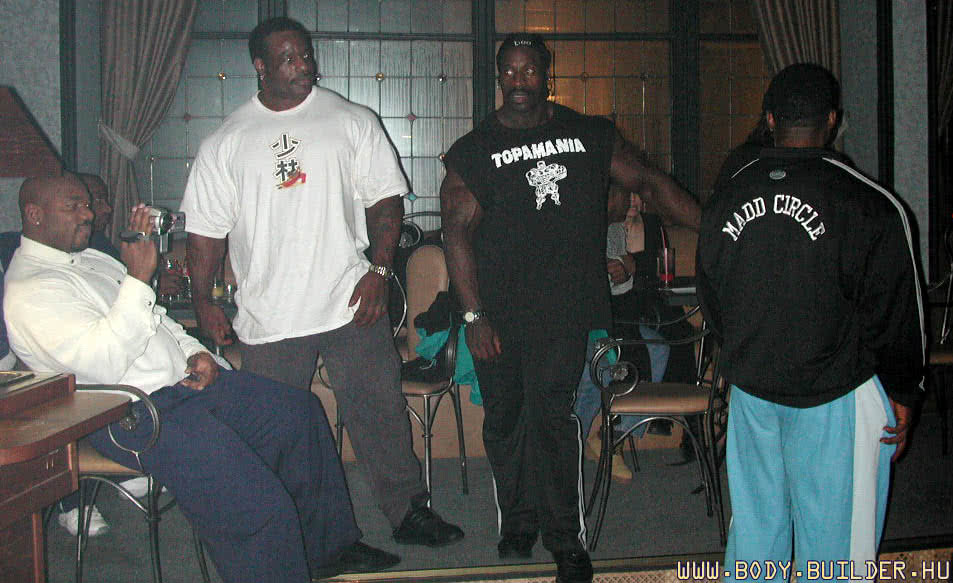 IFBB Pro EB 2001, VIP, Chris Corimer, Stan McCrary, Flex Wheeler, Melvin Anthony