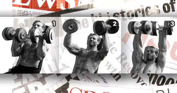 Arnold nyomás - 7 klasszikus gyakorlat, ami soha nem merült a feledés homályába