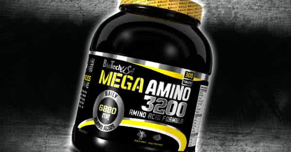 Mega Amino 3200 - hogyan szedjük?