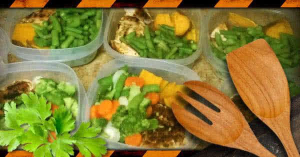 Az egyoldalú testépítő étkezés