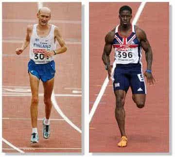 Maraton és sprint - más és más izomrostok, más és más fizikum