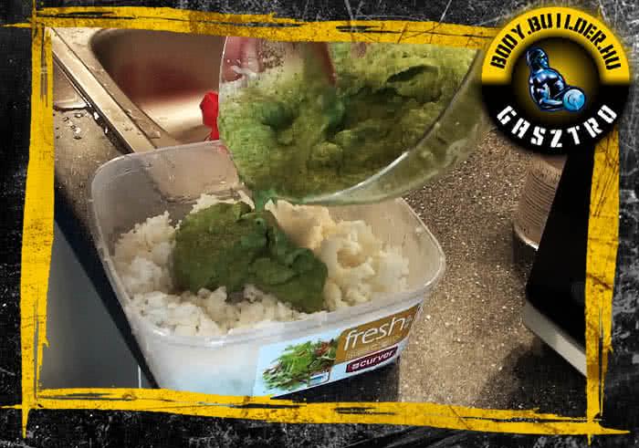 Könnyen csúszós rizs elkészítés - VII. lépés