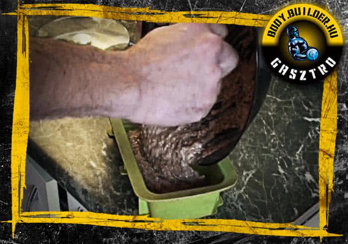 A leggyorsabb proteines süti elkészítése - II. lépés