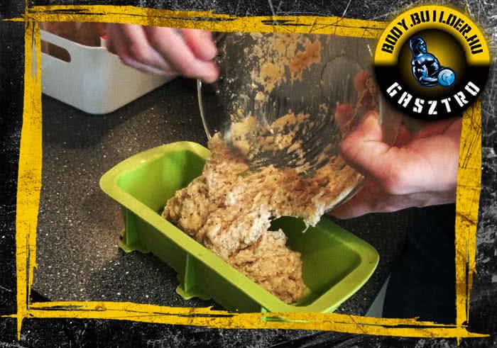Almás csirkefasírt elkészítés - IV. lépés