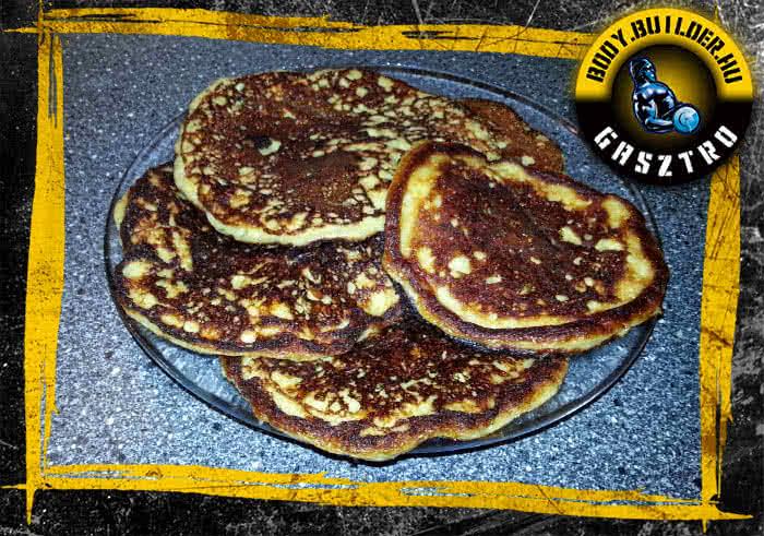 Almás protein pancake