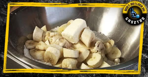 Banánkenyér recept - elkészítés