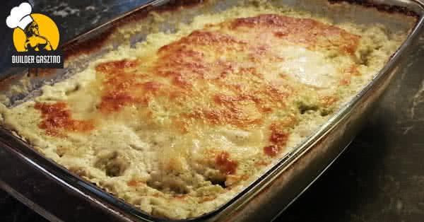 Csirkemell, sajtos brokkoli szószban