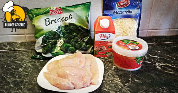 Csirkemell, sajtos brokkoli szószban recept hozzávalók