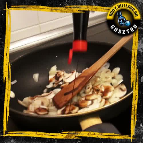 Sült tészta elkészítés - III. lépés