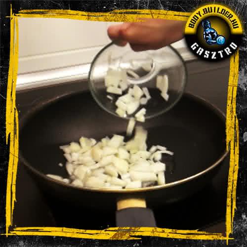 Sült tészta elkészítés - II. lépés