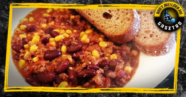 Chili con carne alias chilis bab!