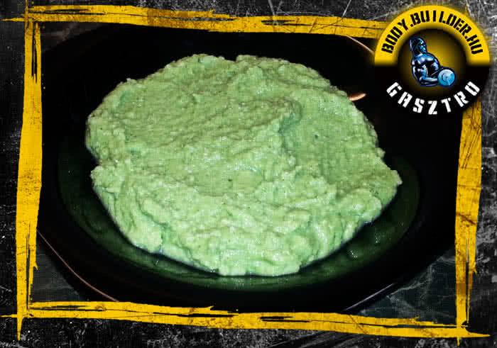 Brokkolis csirkepüré