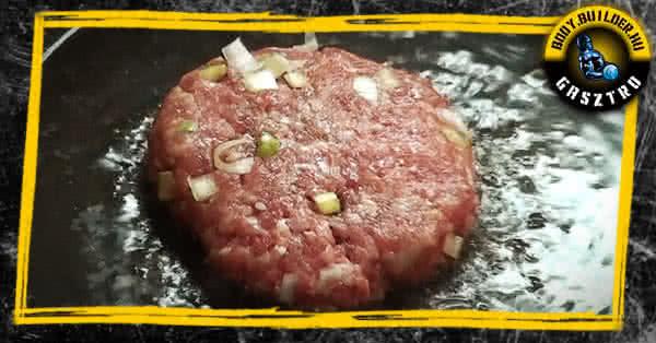 Diétás hamburger házilag - elkészítés