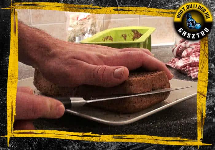 Diós süti elkészítés - X. lépés