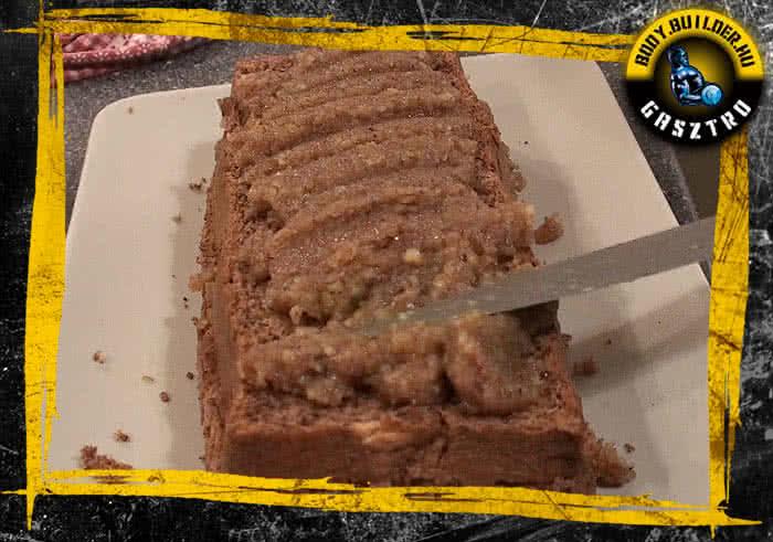 Diós süti elkészítés - XI. lépés
