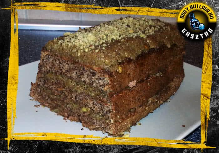 Diós süti - elkészült!