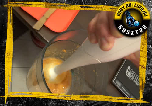 Édesburgonyás pancake elkészíté - IV lépés