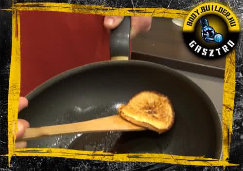 Édesburgonyás pancake elészítés - VI. lépés