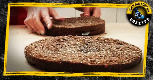 Proteines bounty torta elkészítése