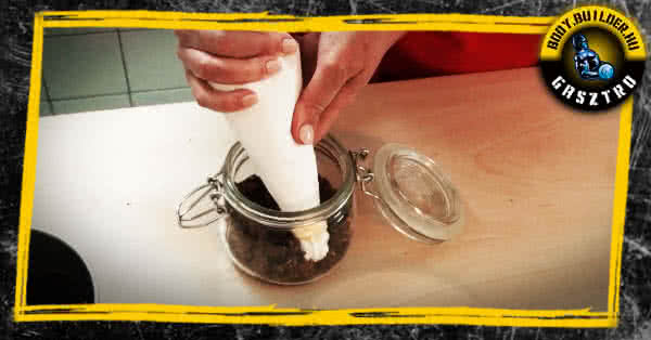 A poharas krém elkészítése