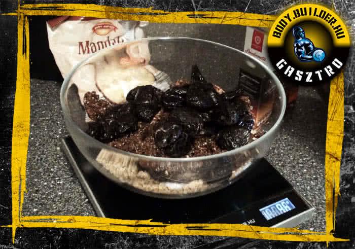 Sütés nélküli proteines süti elkészítés - I.