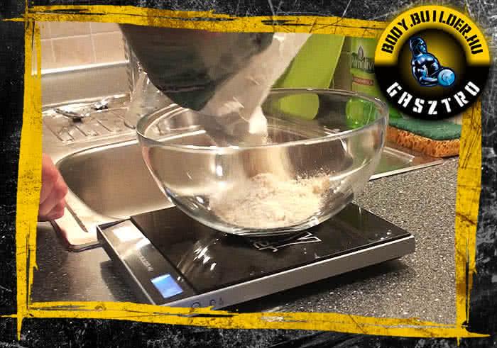 Kókuszos keksz elkészítés - I. lépés