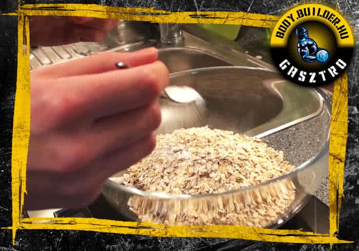 Kókuszos keksz elkészítés - II. lépés