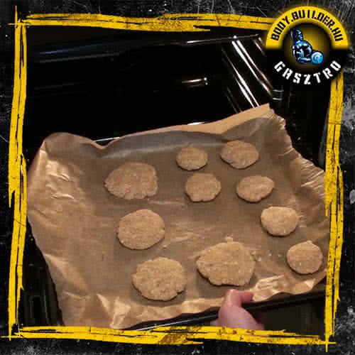 Kókuszos keksz elkészítés - IV. lépés