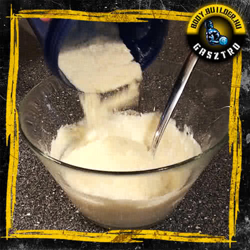Kókuszos keksz elkészítés - V. lépés