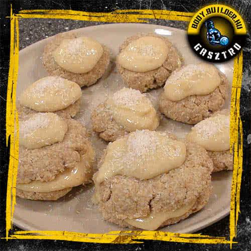 Kókuszos keksz - elkészült!