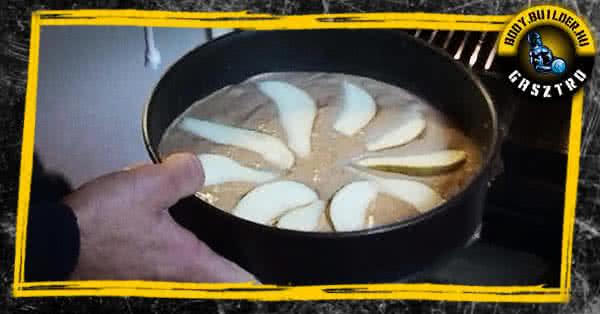 Körtés-proteines süti recept - elkészítés