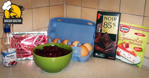 Meggyes csokitorta recept hozzávalók
