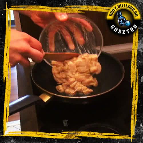 Mézes-mustáros csirkemell elkészítés - I. lépés
