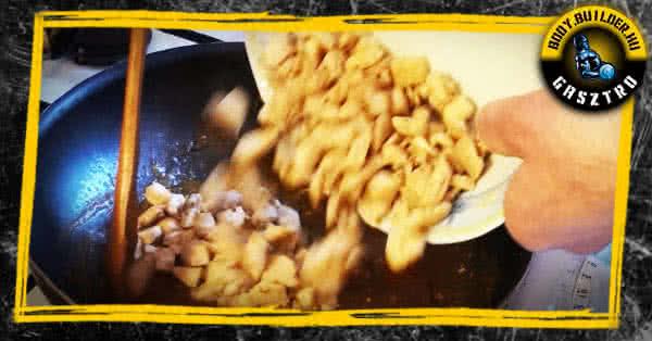 Narancsos csirke recept