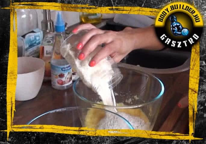 NoCarb muffin elkészítés - IV. lépés