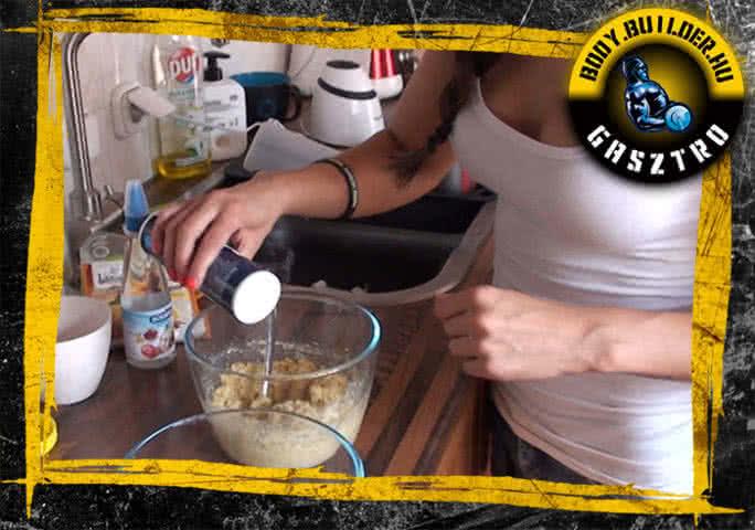 NoCarb muffin elkészítés - V. lépés