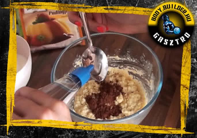 NoCarb muffin elkészítés - VII. lépés