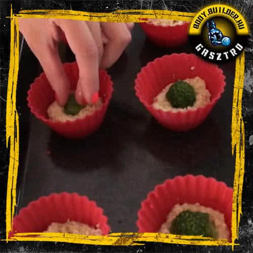 NoCarb muffin elkészítés - VIII. lépés
