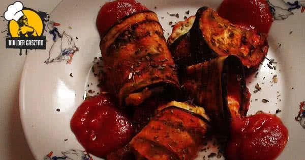 Ricottás-csirkés padlizsán recept