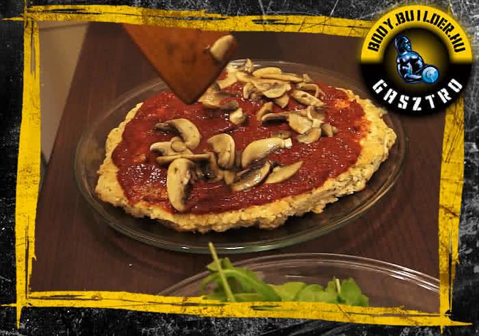 Diétás pizza elkészítés - VII. lépés